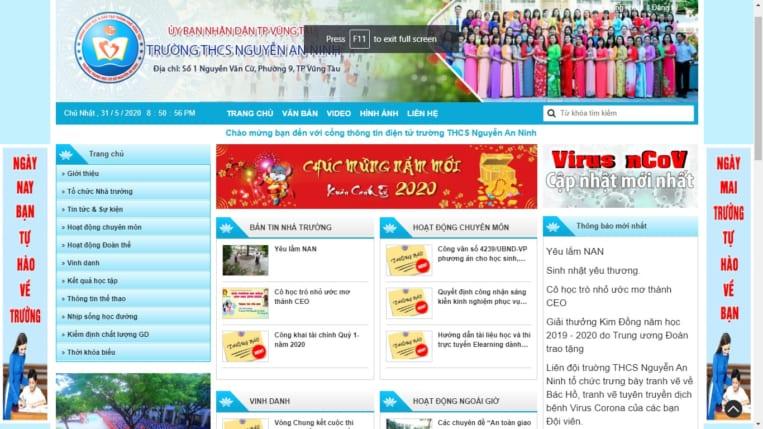 Trường THCS Nguyễn An Ninh